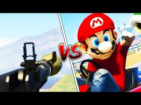 SUPER MARIO VS RPG - GTA 5 ONLINE FUNNY MOMENTS