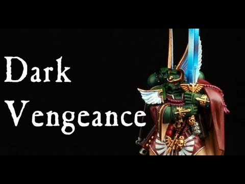 How to paint Dark Angels Company Master Balthasar? Dark Vengeance Warhammer 40k Painting tutorial