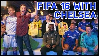 FIFA 16 WITH CHELSEA PLAYERS!