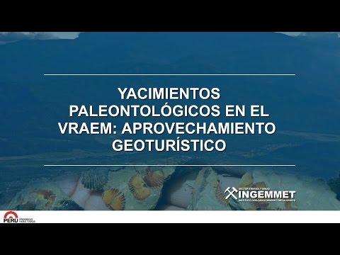 Yacimientos Paleontológicos en el VRAEM Aprovechamiento  Geoturístico