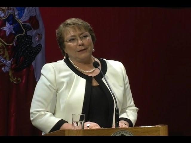 Presidenta Bachelet dio inicio a celebraciones de Fiestas Patrias