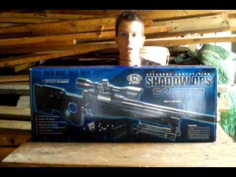 UTG Type 96 Shadow Ops Airsoft Sniper Rifle Review
