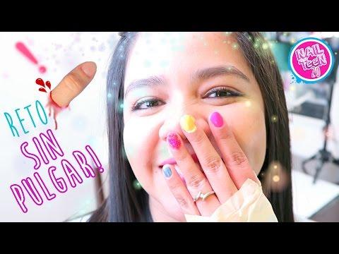 Me pinto mis uñas sin usar pulgares!