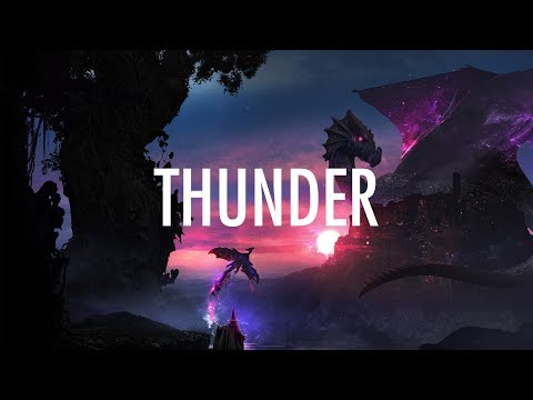 Imagine Dragons  Thunder Lyrics  Lyric Video MP3