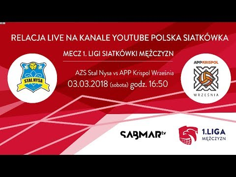 I Liga Siatkówki Stal Nysa - APP Krispol Września PLAY OFF - Mecz Nr3