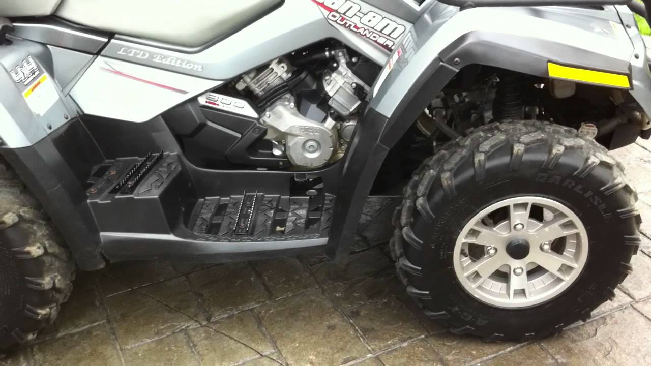 Brp Can Am >> CAN AM OUTLANDER 800 LTD 2007 BRP, .MOV - YouTube