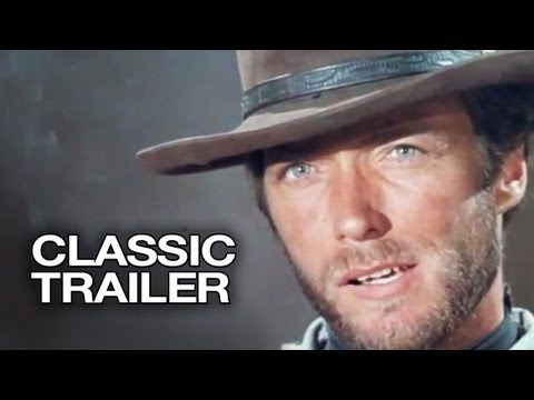 For a Few Dollars More Official Trailer #1 - Clint Eastwood Movie (1965) HD