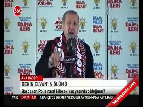 Erdoğan (BERKİN ELVAN)  HAKKINDA İLK KONUŞMASI !