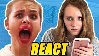 Molly REACTS to her Sister... Ivey!