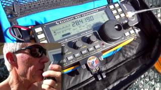 KX3 with AlexLoop off the deck work into Turks and Caicos Islands