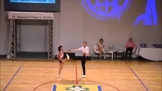 Mélitine Poulios Burel & Kévin Garino - World Masters Ljubljana 2015