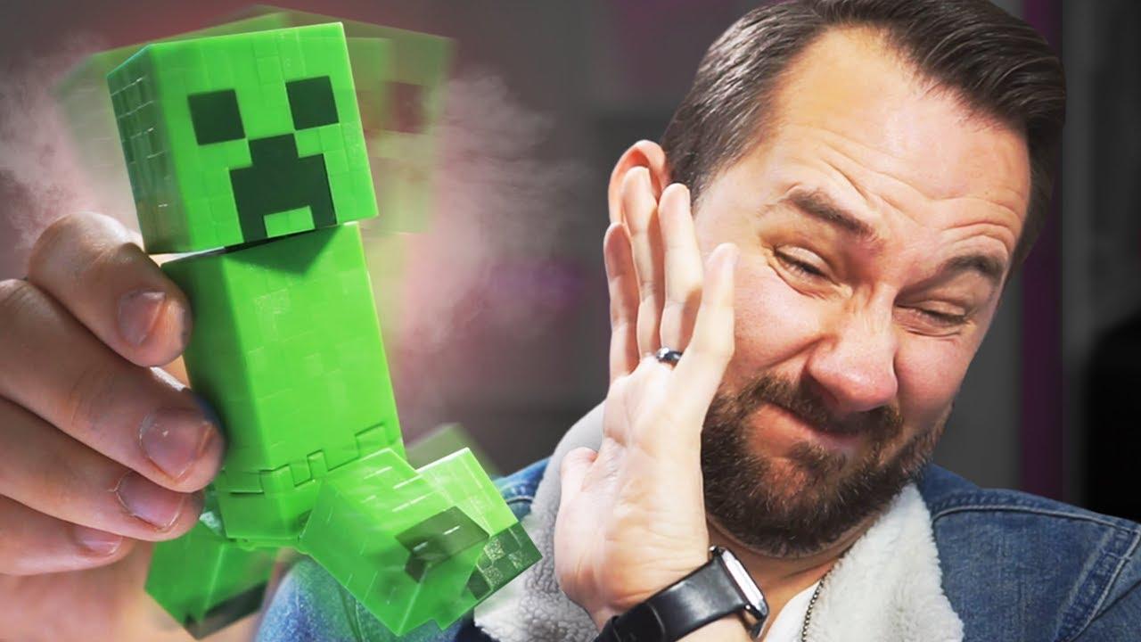 Exploding Minecraft Creeper!   10 Strange Amazon Products