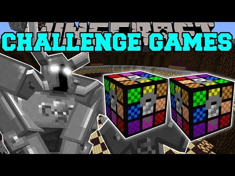 Minecraft: AXE SWINGING MANIAC CHALLENGE GAMES - Lucky Block Mod - Modded Mini-Game