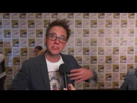 Guardians of the Galaxy Vol. 2: Director James Gunn Comic Con 2016 Movie Interview