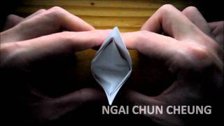 Origami Paper Crown (tutorial)