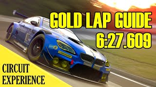 GT Sport - Nordschleife Circuit Experience // Gold Lap Guide