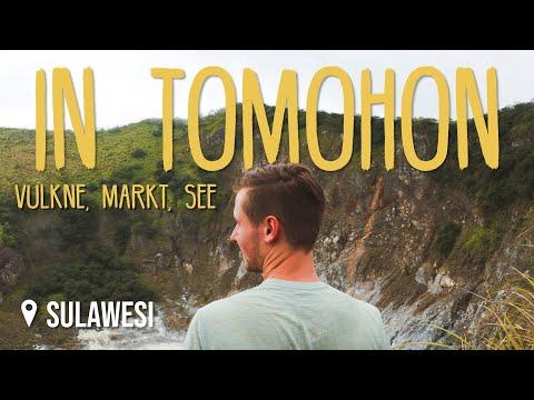 Tomohon: Vulkane, Markt & See • Sulawesi • Weltreise Vlog