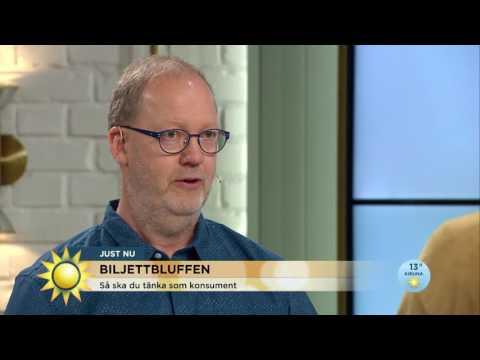 Biljettbluffen - så kan du undvika att bli lurad - Nyhetsmorgon (TV4)