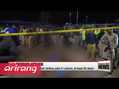 Pakistan suicide bomber strikes park in Lahore, at least 65 dead