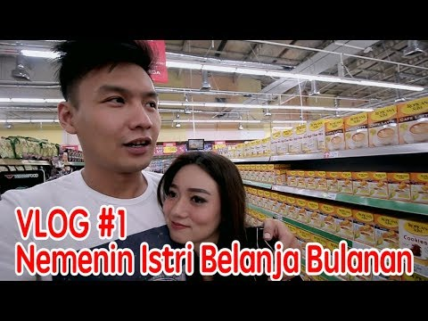 Daily VLOG #1 - After married life + Belanja Bulanan