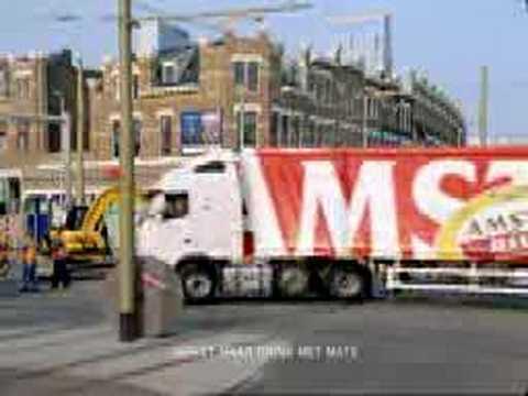 Amstel Bier Beer TV-commercial – Truck vrachtwagen