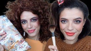 ASMR | A Very Maria Connismas! ? (80s Makeup & Sassy Gum Chewing)