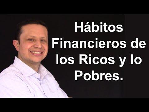 Hábitos Financieros de los pobres, la clase Media y los Ricos.