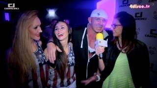 Pudzian Band w Klub Diamond - Wywiad 09.05.2015 (www.4disco.tv)