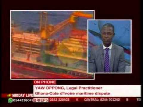 MiddayLive - Update on Ghana- Ivory coast maritime dispute - 27/4/2015