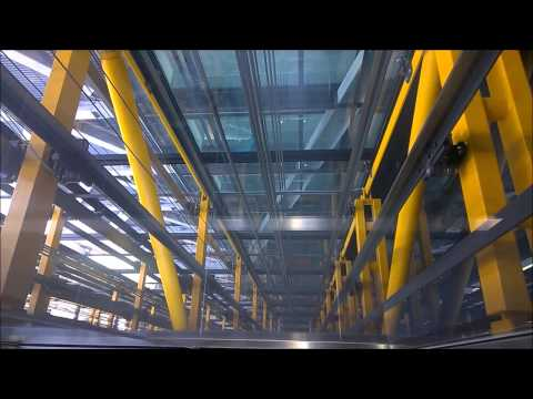 Fastest lift/elevator in Europe!! Kone @ Leadenhall Building (aka. Cheese Grater)