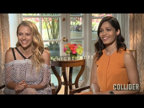 Teresa Palmer and Freida Pinto on 'Knight of Cups' and the Process of Working with Terrence Malick