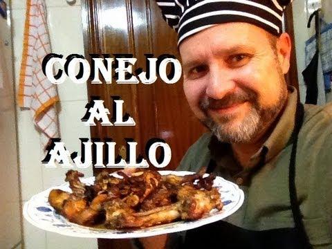 CONEJO AL AJILLO (PREMIADA A MEJOR RECETA DE 2013)