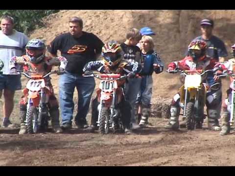 X Boy  Motocross - 8ans Course 50 Cc 2 video
