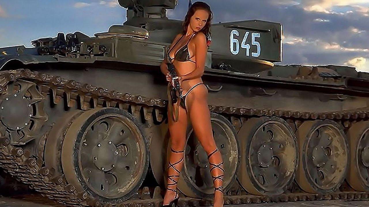 Фото девушек на танке 5 фотография