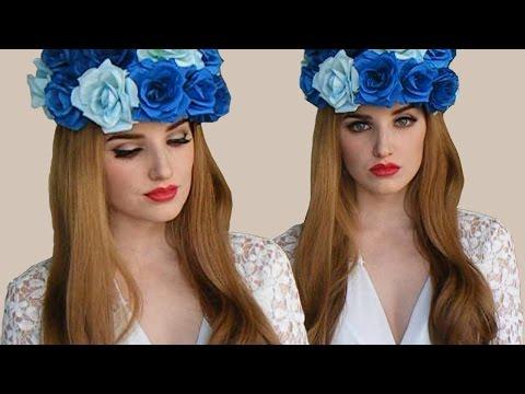 Lana Del Rey Born To Die Inspired Makeup Tutorial #1