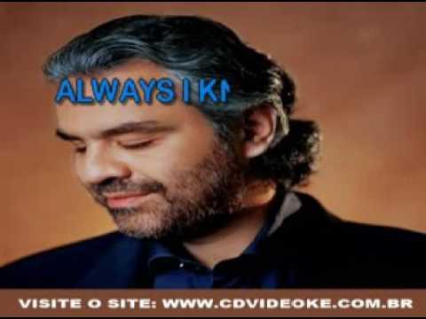 Andrea Bocelli & Sarah Brightman   Time To Say Goodbye English Version