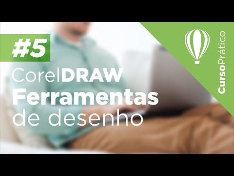 Curso prático de Design Gráfico #5 - CorelDRAW - Ferramentas de desenho