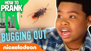 How to Prank w/ the Game Shakers: Bugging Out | Nick