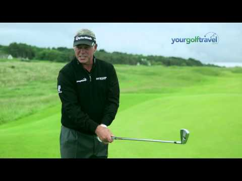 Darren Clarke Golf Tips - How to Play a Pitch and Run on a Links Golf Course