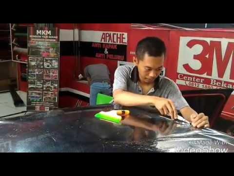 Cara Pasang Sticker Wrap 5 Dimensi ( Mobil Sirion )
