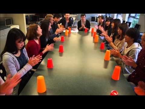Cups (When I'm gone) Cover - inlingua Vancouver students