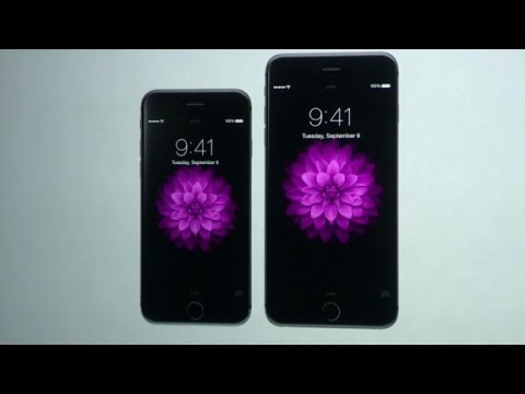 Apple unveils new iPhone 6