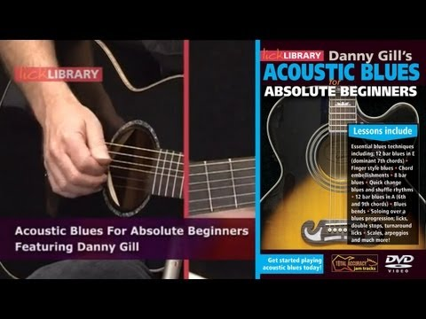 Acoustic Blues For Beginners - Guitar Lessons With Danny Gill Licklibrary