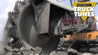 Bucket Wheel Excavator for Children | Kids Truck Video - Bucket Wheel Excavator