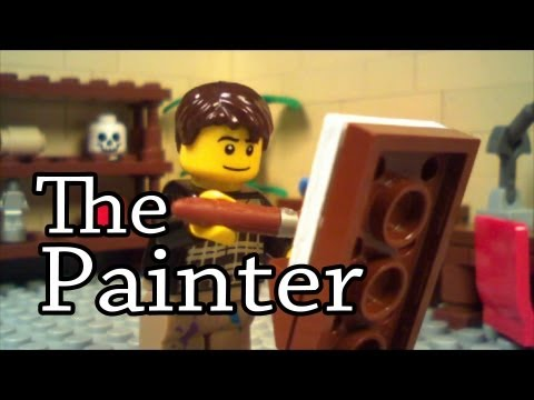 The Painter - A Brickfilm Short