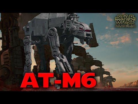 AT-M6 Gorilla lépegető - Az Utolsó Jedik | Star Wars Akadémia #1