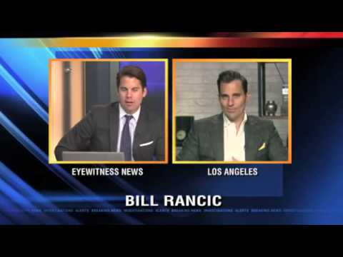 Bill Rancic does his best at making 'Rogaine' cool