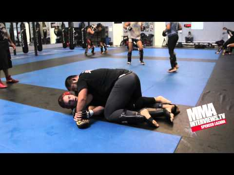 Jake Ellenberger talks training for UFC 158 at Reign Training Center, Gracie Academy w/ Ryron Gracie Image 1