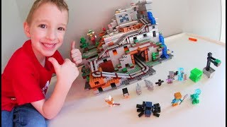 BEST LEGO EVER! - Minecraft Mountain Cave!