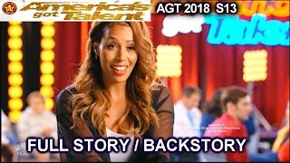 Glennis Grace 39 years old singer FULL STORY OR BACKSTORY America's Got Talent 2018 Audition AGT